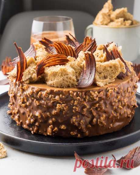 Фундучный торт