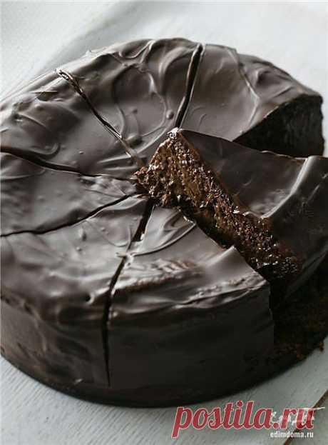 Как приготовить шоколадный торт рецепт блюда с фото
