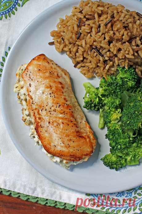Фаршированная куриная грудка в духовке - Лучший сайт кулинарии