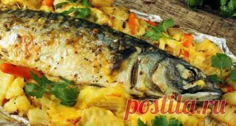 Селедка в духовке за 30 минут:вкуснее, чем копченая рыба - Четыре вкуса - медиаплатформа МирТесен