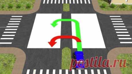 Развороты на дороге: правила выполнения