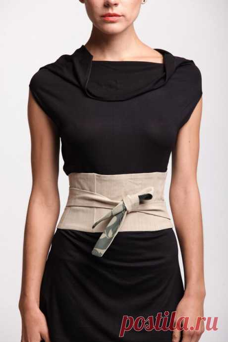 Пояса и платки как стильные аксессуары | Краше Всех