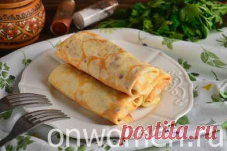 Блинчики с мясом и яйцом: рецепт с фото – готовим за 13 шагов - Onwomen.ru
