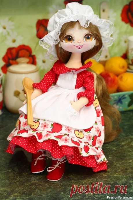 Текстильная куколка Лорочка- Принцесса кухни. | Разнообразные игрушки ручной работы