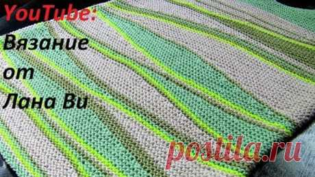 Вязание спицами: как вязать укороченные ряды - 3 МК. Вязаный топ-майка спицами укороченными рядами