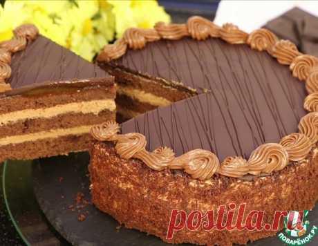 """Шоколадный торт """"Пражский"""" – кулинарный рецепт"""