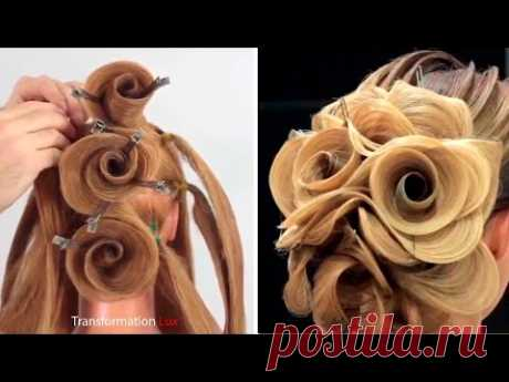 Top 10 OMG Hair Transformations - Beautiful Hairstyles Compilation 2017
