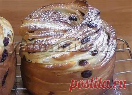 кулич краффин вкусный рецепт - Пошаговые рецепты с фото
