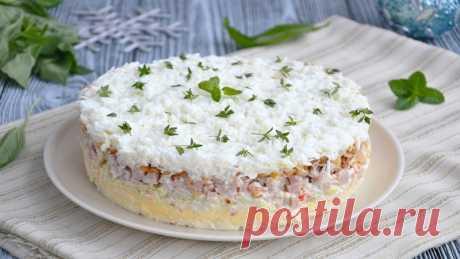 Салат «Снежная королева» — Sloosh – кулинарные рецепты