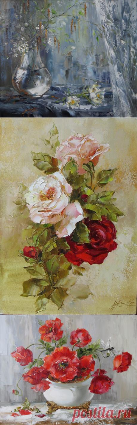 Нежно-весенне-чудесное от Оксаны Кравченко