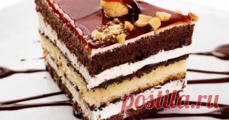Нежный торт «Огни Парижа»