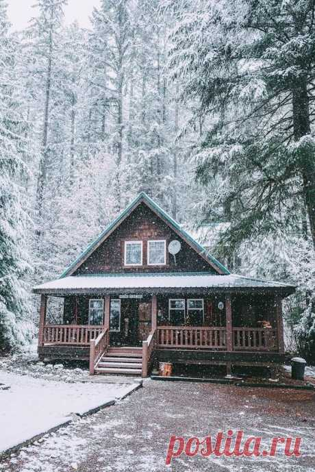Фотоподборка: волшебные зимние домики — INMYROOM
