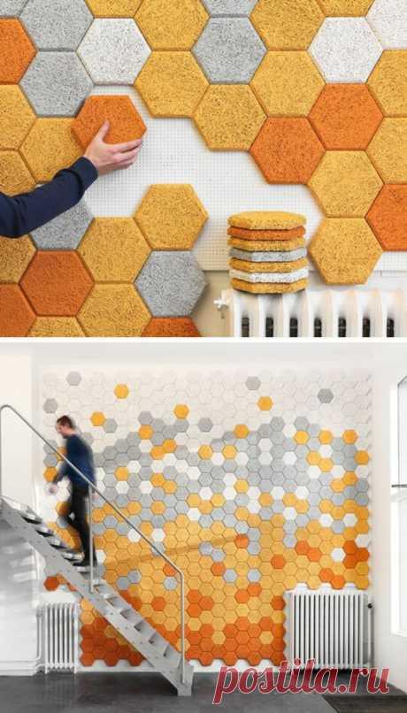 Необычные возможности декорирования стен | Роскошь и уют