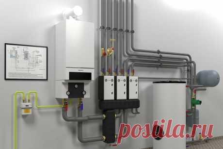 Супер экономное отопление небольшого дома с газовым котлом