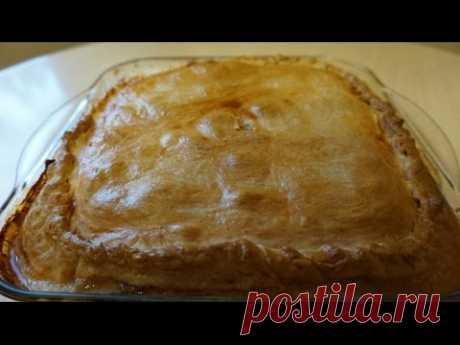 Курник с курицей и картошкой / Простые рецепты