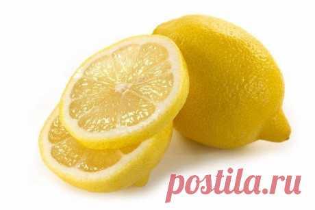 Лимон для красоты.