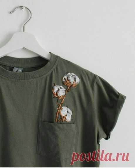 Хлопковая (во всех смыслах) футболка