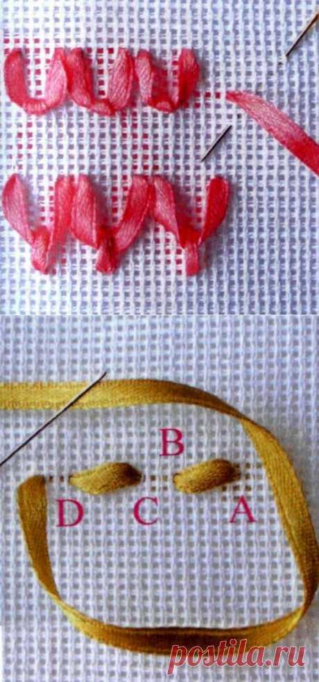 """КЛАСС!!!... Вышивка лентами """"с нуля"""" и ПО ПОРЯДОЧКУ... приёмы, техника, швы, элементы, цветы... БЕСЦЕННЕЙШАЯ ИНФОРМАЦИЯ ПО ВЫШИВКЕ ЛЕНТАМИ!...."""