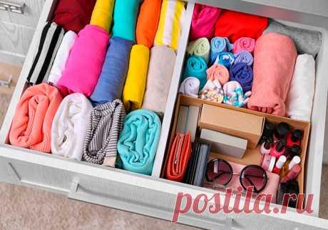 7 лайфхаков для хранения одежды в шкафу и несколько важных рекомендаций по поддержанию порядка в шкафу