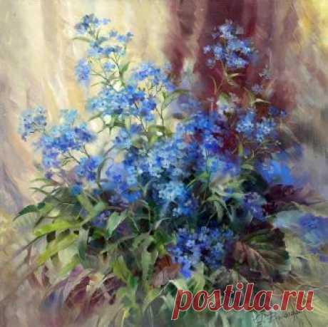 Романтичные натюрморты Риммы Вьюговой