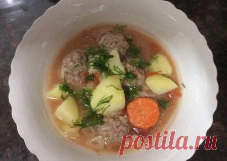 (11) Густой испанский суп(Альбондигас) - пошаговый рецепт с фото. Автор рецепта Елена . - Cookpad