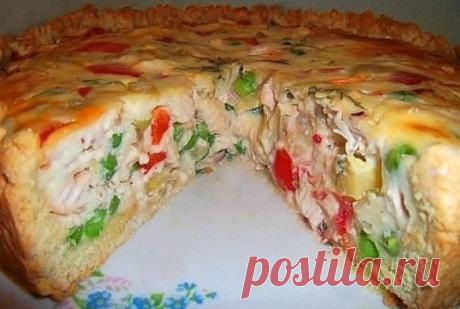 Открытый «Чудо – пирог» с секретной начинкой! Сделаем свой привычный стол прекрасным!