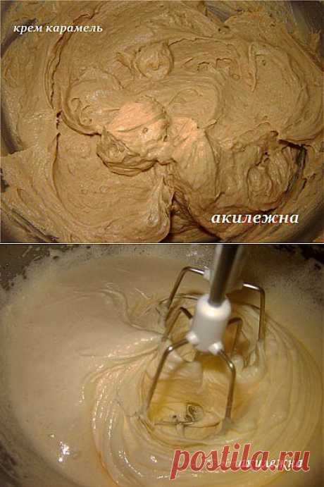 Крем карамельно- медовый : Торты, пирожные