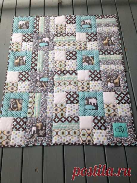 Campbell's quilt ---nice 'n simple stitch in the ditch