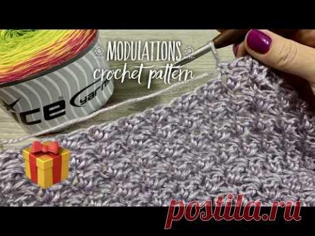 """Узор крючком для КАРДИГАНА """"Переливы"""" / Конкурс / Crochet Pattern / ПРЯЖА """"Ice"""" Cakes Cotton Fine"""