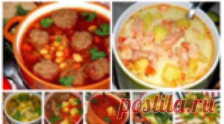 10 рецептов горячих вкусных супов