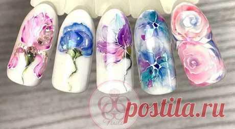 » Маникюр на 8 марта: идеи весеннего дизайна ногтей