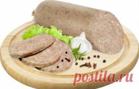 Ливерная колбаса домашняя – бюджетная находка
