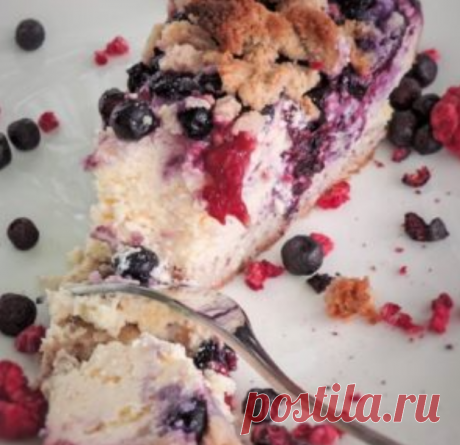 Рецепт твороженного кето пирога (с подсчётом КБЖУ)