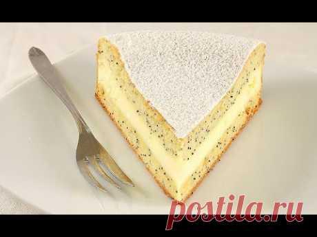 🍰Нежный Маковый Пирог с Кремом/Вкусно