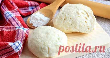 Тесто на кефире для пирога - лучшие рецепты основы для вкусной домашней выпечки