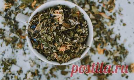 Фиточаи - листья и травы для здоровья - здоровье, фиточай, листья малины, вишни, смородины, лечебные травы, сбор от отеков, витаминный чай