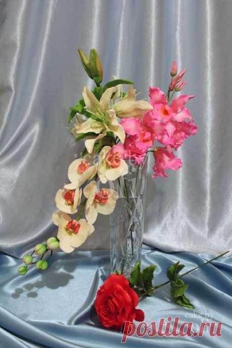 Сахарные цветы : Букет ассорти