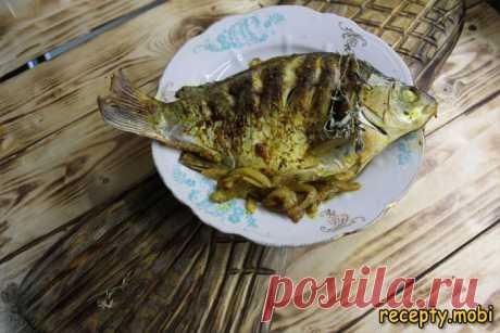 Речная рыба в соевом соусе по-восточному