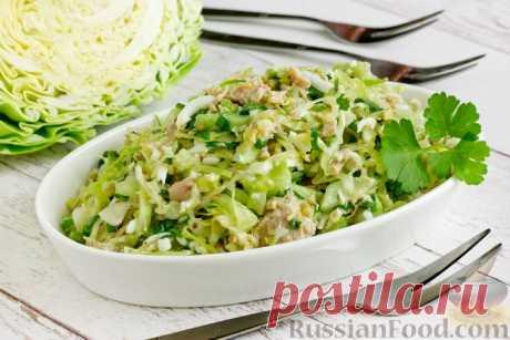 Салаты из огурцов - 30 лучших рецептов салатов из огурцов