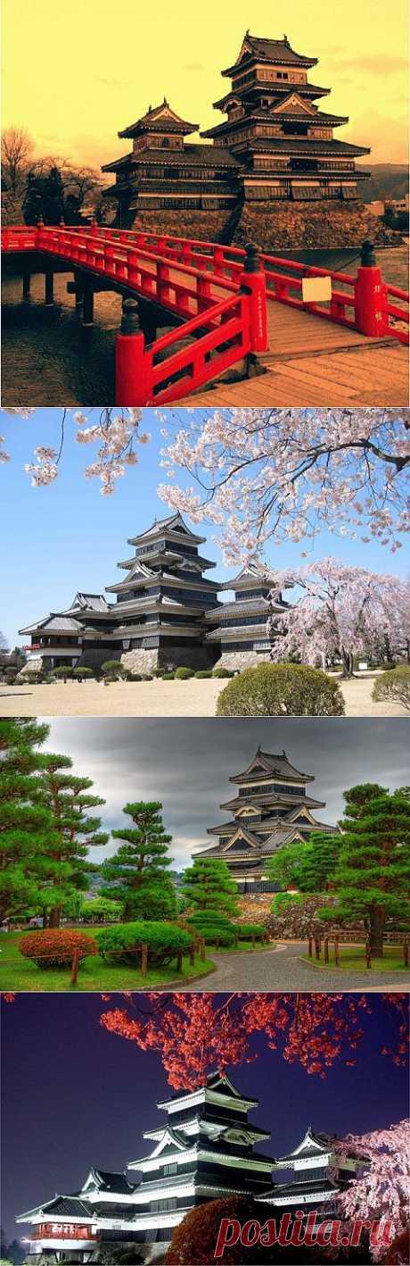 (+1) - Замок Мацумото в Японии | ТУРИЗМ И ОТДЫХ