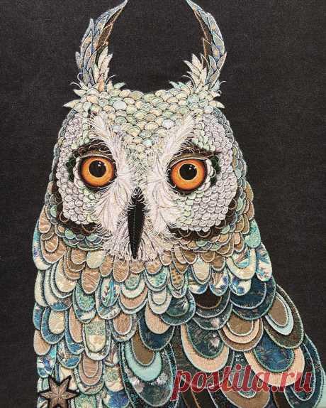 Текстильный авиариум: потрясающие работы Zara Merrick | Журнал Ярмарки Мастеров