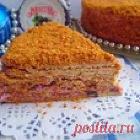 "Торт ""Чудак"" Кулинарный рецепт"