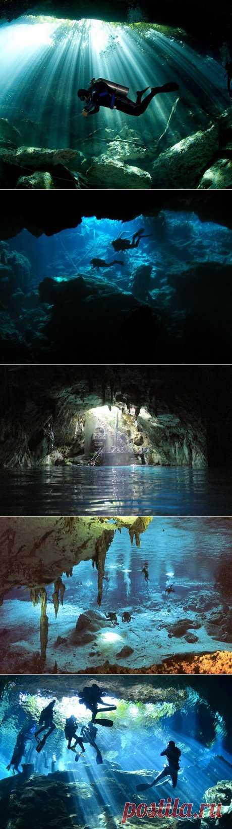 Удивительные и непредсказуемые Мексиканские священные сеноты Майя. При исследовании этих подземных пещер мы уже обнаружили подводное кладбище, разные наскальные изображения под водой, а также костровища и лежбища земного народа живущего когда то в Мексике.  История этой страны рассказывается в одном тоне, но опровержение истории кажется возможно найти под водой, однако священные сеноты появились намного раньше народа Майя и остается открытым вопрос а какую письменность мы находим?