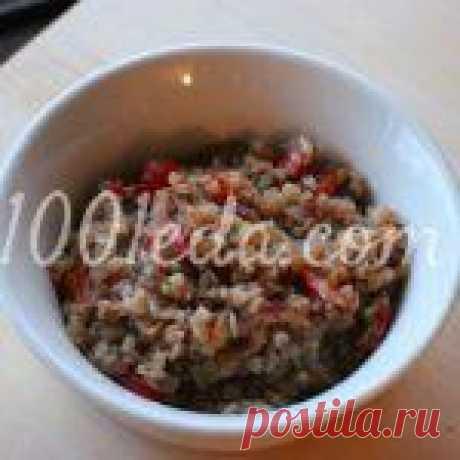 Гречневая каша с болгарским перцем в духовке - Гречневая каша от 1001 ЕДА вкусные рецепты с фото!