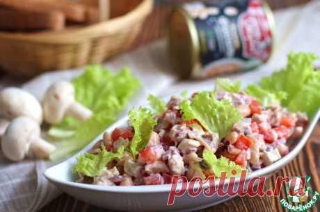 "Салат ""Домисолька"" Кулинарный рецепт"