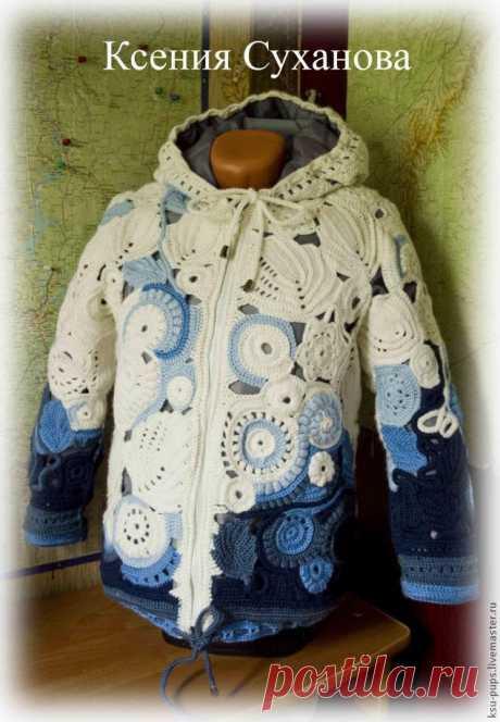 Теплая осенняя куртка с подкладом на синтепоне | Журнал Ярмарки Мастеров