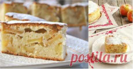 Скороспелый яблочный пирог по-немецки: покоряет простотой и необыкновенным вкусом!   Четыре вкуса