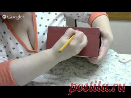 Box decoupage master class. Vintage box master class