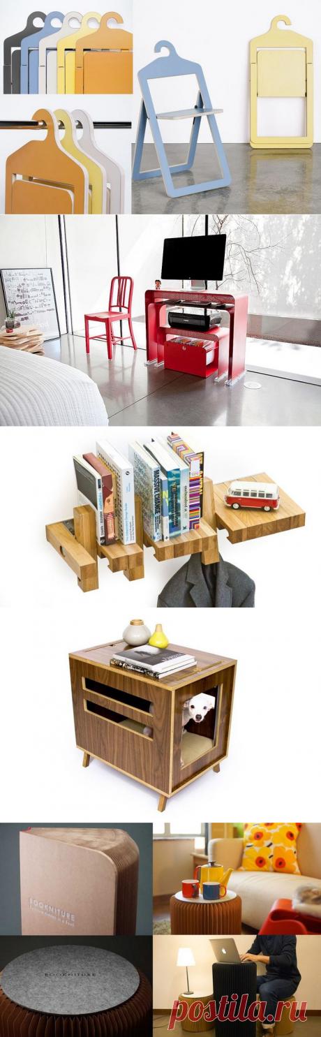 «Умная» мебель, которая сделает интерьер функциональным даже в маленькой квартире