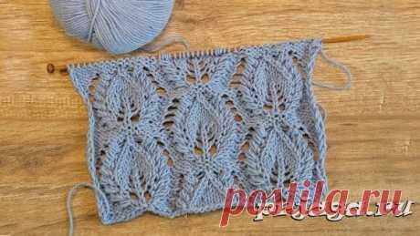 Нашла очень красивые узоры для вязания спицами (25 схем) – делюсь! (Вязание спицами) – Журнал Вдохновение Рукодельницы